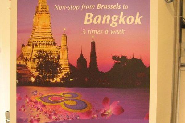 Brussels to Bangkok Inaugural flight