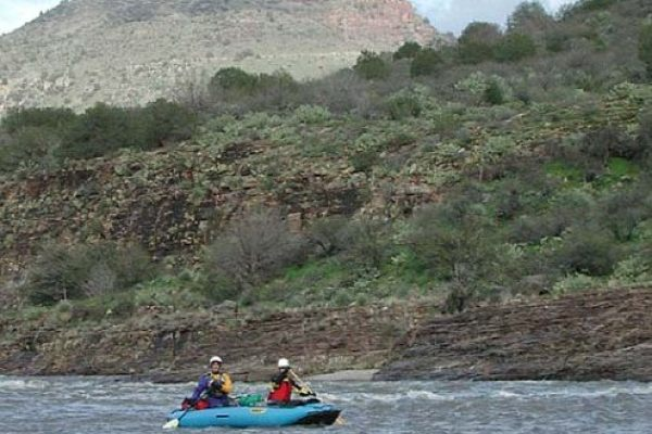 THe Canyon Debuts on the Salt River Canyon