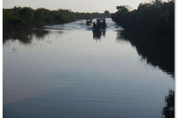 Tonle Sap Lake, Camabodia