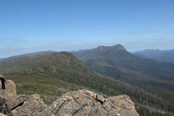 Mount Lord and Lanes Peak