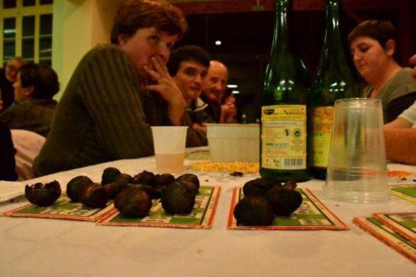 Loto des châtaignes 2012, énorme succès.