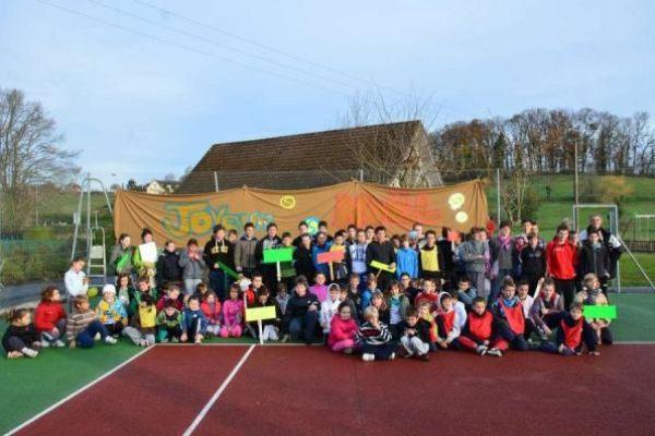 Olympiades 2012 organisées par le Club de Tennis et le grand Cyril Cazeaux