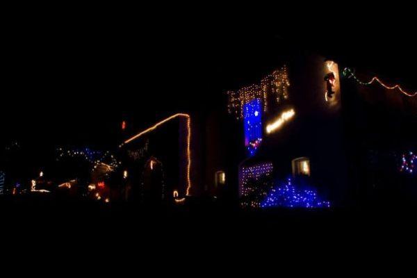 De jolies maisons illuminées