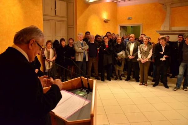 Les voeux du maire à Sauveterre 2013