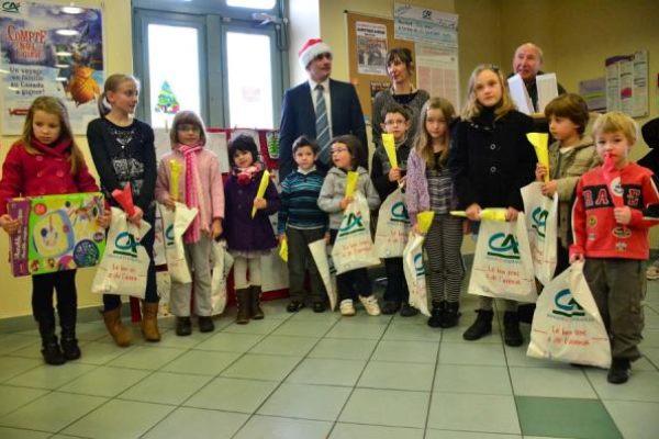 Concours de dessin Crédit Agricole de Sauveterre 12 jan 13