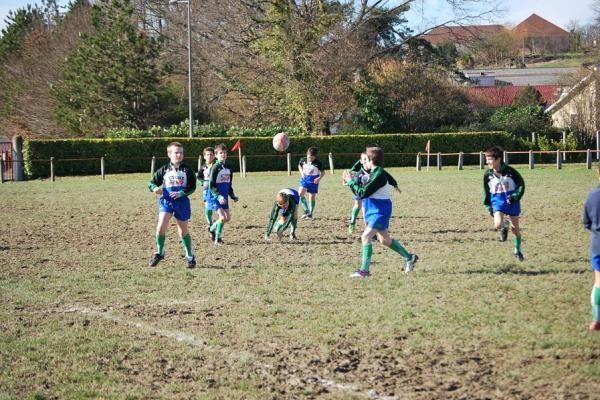 Rugby match orthez 16-02-2013 pour les jeunes