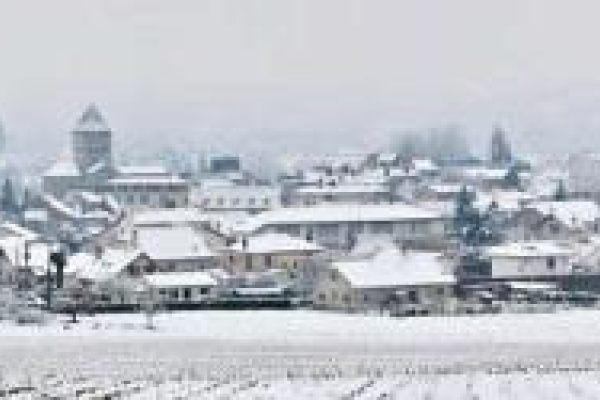 Sauveterre en blanc le 13 mars 13