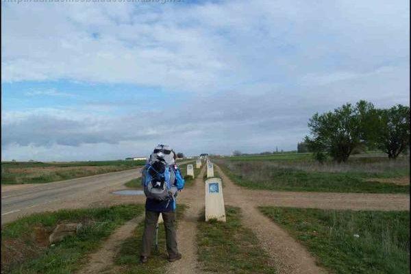 Chemin de Compostelle 7 mai 2012