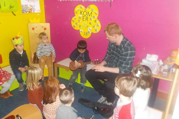 K1b Gitarist in de klas