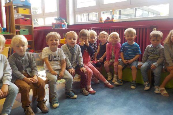 K1b Sfeerbeelden eerste schoolweek