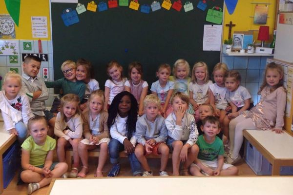K3a Sfeerbeelden eerste schoolweek
