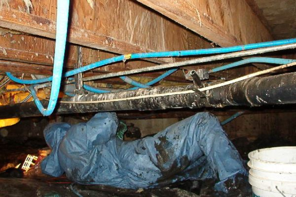 Crawlspace Sewage Flooded Cleanup Leak Cost