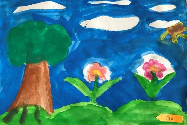 Това, което обичам да рисувам