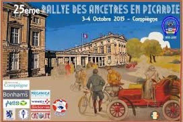 Rallye des Ancêtres 4 Octobre 2015