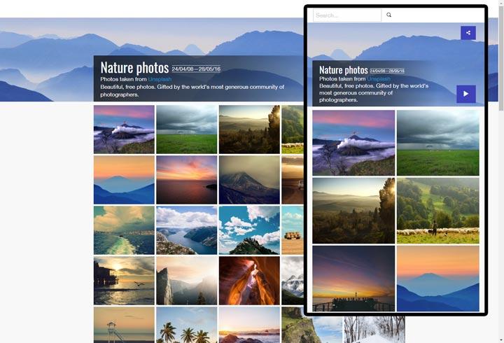 Jalbum Photo Gallery Website Software