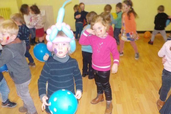 K1b Thema ballen en ballonnen