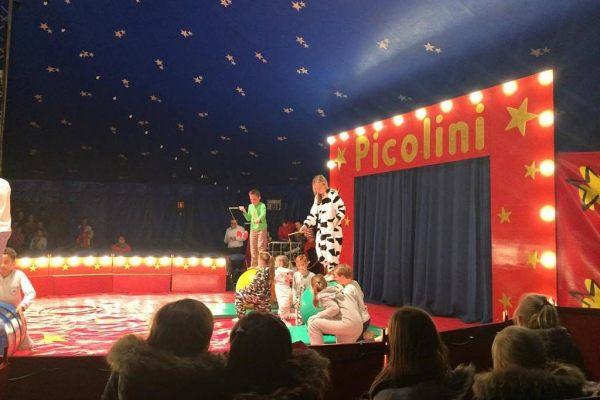 K3 naar circus Picolini