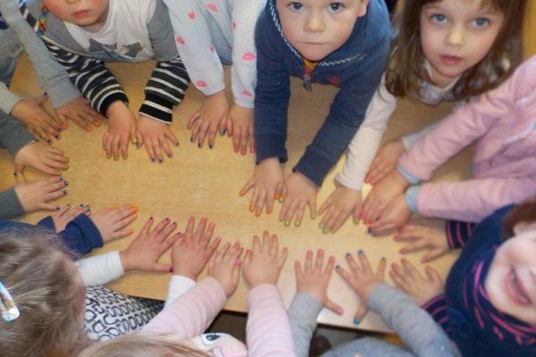 K1b Thema handen en voeten
