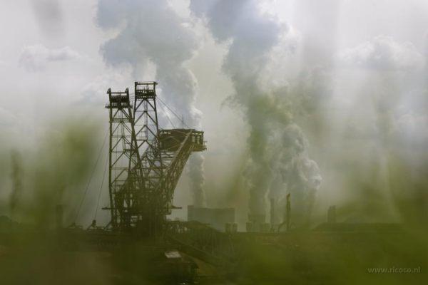 Garzweiler en Altdorf Open mining